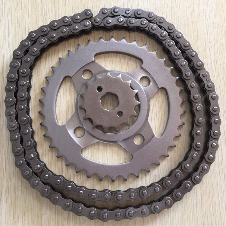 wave 100 sprocket and chain sets 45Mn motorcycle chain sprocket