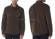 Corduroy Mens Winter Custom Jackets
