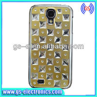 New creative starry design diamond studded bling bing rhinestone case For Samsung Galaxy S4 i9500