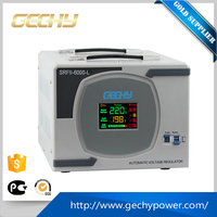 5000W LCD display relay control single phase power stabilizator