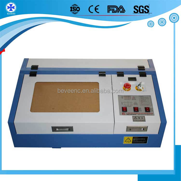 3d sub surface 50w co2 laser engraving and cutting machine