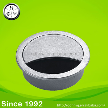computer desk plastic wire line box table hole cover (CG2311)