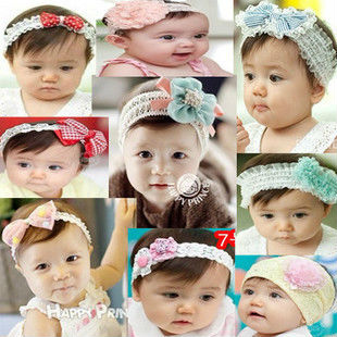 Wholesale Various Colors Baby Headbands Hair Accessories WS76
