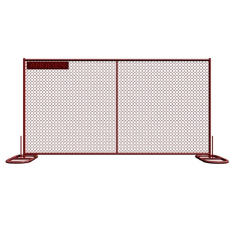 6 x12 base temporary chain link fence panels for sale