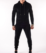 OEM Latest Gym Clothing Slim Fit Custom Mens New Design Plain Velour Tracksuit