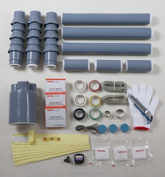 middle voltage cable cold shrinkable termination kit 11kv kit