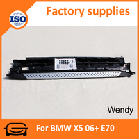 Original Aluminum alloy footstep side step Running board for BMW X5 06+ E70 car Side step