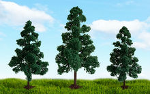 "MP SCENERY - HO SCALE TREES, SCENIC DECIDUOUS TREES - 70865 LODGEPOLE PINE TREE, 5.5"" to 6"", 3/PK"