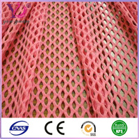 Lime color sports fabric athletic mesh basketball tops wicking mesh fabric