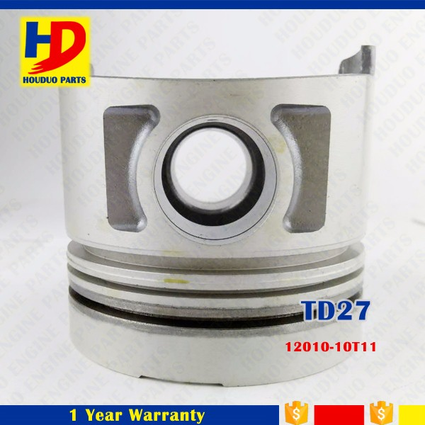 Diesel Engine For Nissan TD27 Piston With Alfin And Oil Cooling Gallery 2011-43G01 12010-10T11