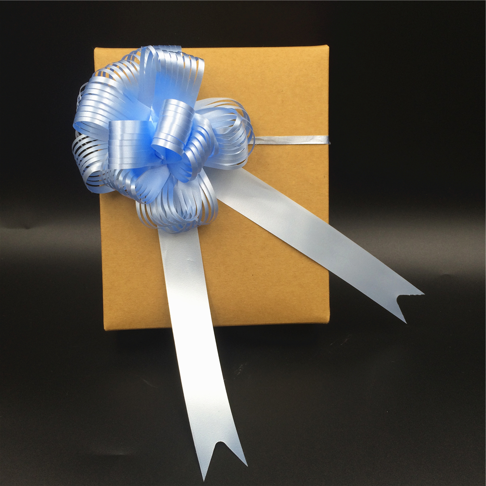 Wholesale gift wrapping small florist pull string bows