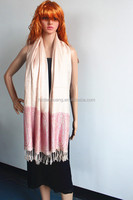 High quality fashionable rayon polyester cashew flowers scarf shawl pashmina scarf