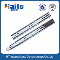 45mm soft closing channel, aluminium kitchen cabinet accessories slide