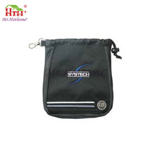 Different material genuine leathe golf bag travel cover top divider