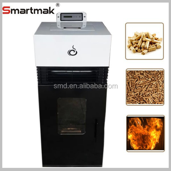 Cast Iron wood biomass pellet stove,portable small pellet stove,automatic feeding wood pellet stove
