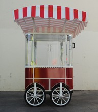 Mobile food cart snack cart trolley cart for sale food trolley AL-TR04