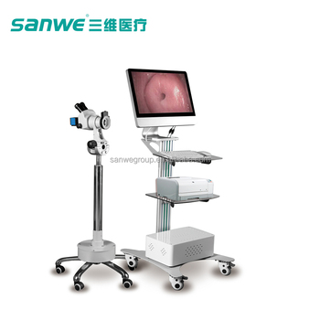 Sanwe SW-3306 Digital Optical Colposcope System with brand microscope