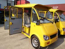 chinese four wheel electric passenger cars/van