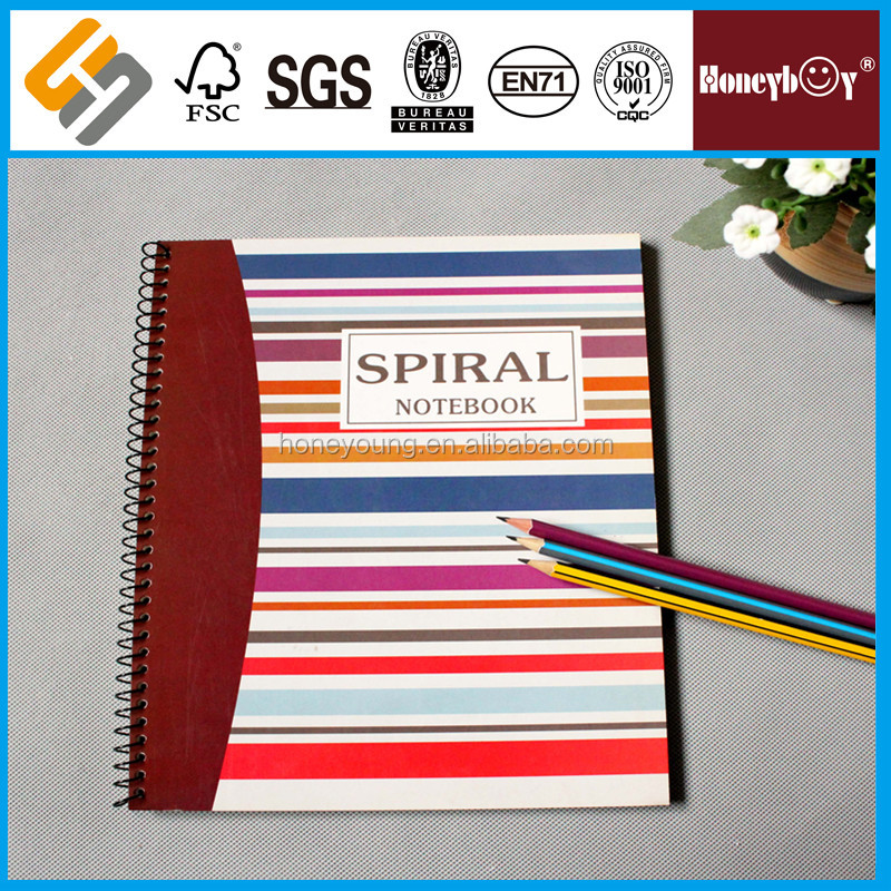 eco paper classical handmade school notebook printing