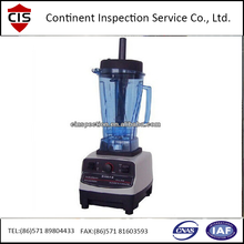 Blender Inspection services/home appliance quality inspection control