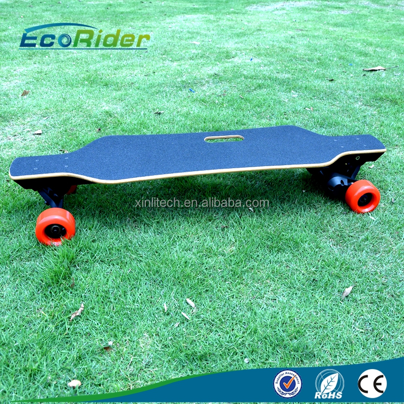 Ecorider popular 1000W adults 4 wheel electric skateboard for sale with max speed 18km/h