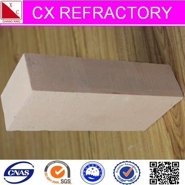 Low thermal conductivity insulating fired brick