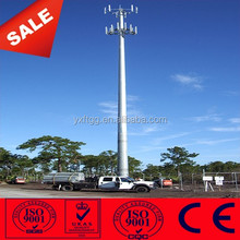 25M 30M 40M Steel Hot dip Galvanized Telcom Monopole Tower