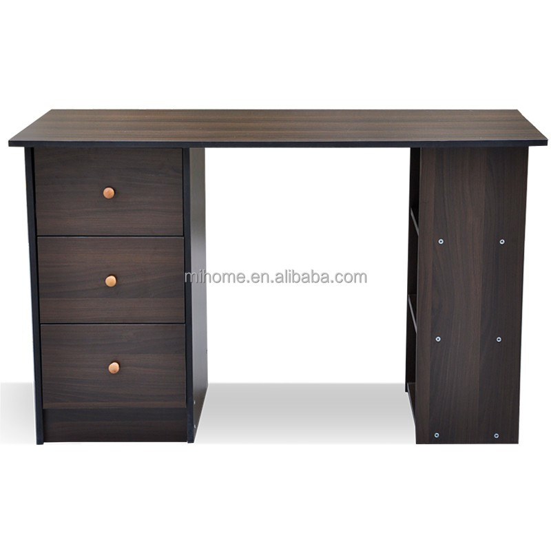 Wholesaler cheap simple design panel wood computer desk/ office computer table