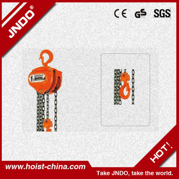 Economic Prices 5 ton chain pulley block specifications of chain block