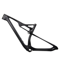 Top quality full suspension mountain bike frameset mtb carbon frame 29er M06