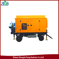 ZHONGDA ZYB Portable Waterlogging Drainage Diesel Water Pump Truck