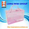 E express alibaba clear pvc cosmetic bag roll plastic bag