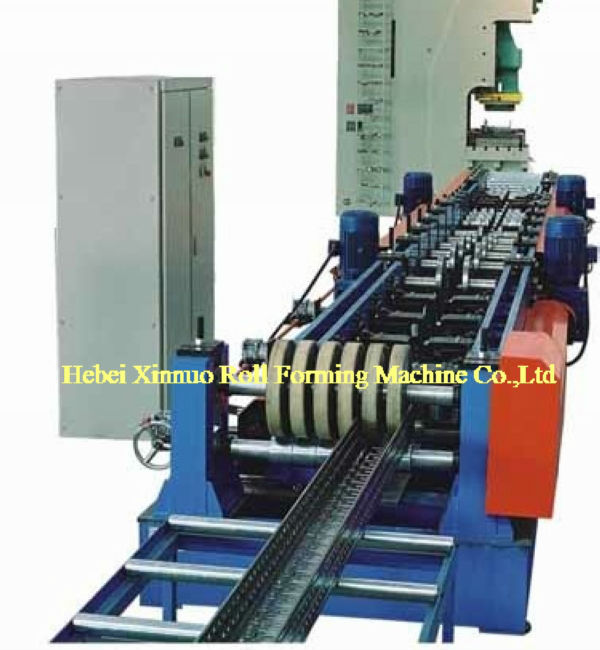 colored steel cable tray ladder roll forming machine