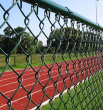 Heavy Duty lowes chain link fence prices / 5 foot plastic coated chain link fence