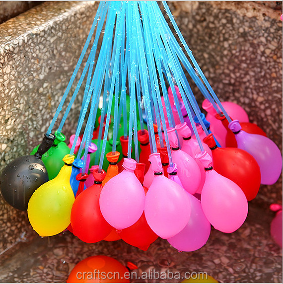 mini water balloons for summer party decor