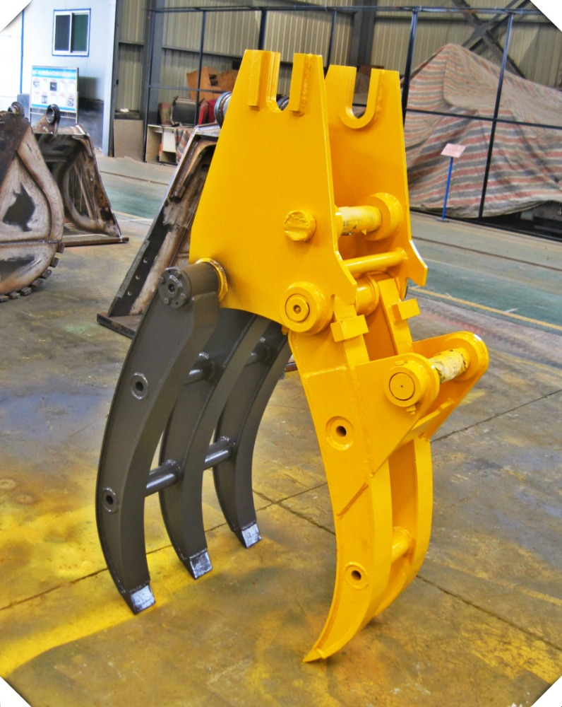 Hydraulic Grapple Log Grapple Excavator Clamp for sale