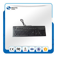 With internal metal plate for key fixation Multi-functional Keyboard-HCC150