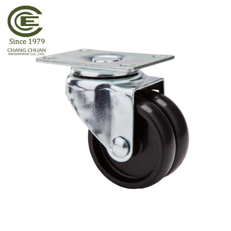 2 / 3 / 5 inch small / large ball bearing casters TPR caster with PP core caster wheel