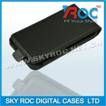 2014 Real Genuine Flip Leather Pouch Case Cover for Sam galaxi s2 i9100