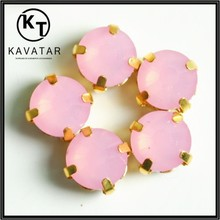2015 New arrival round shape resin stones