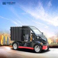 short distant delivery 1 person 4 wheel electric car