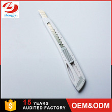 High quality cutter knife ABS material knife with SK4 material plastic 9mm utility knife