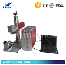 Agent wanted expiry date printing machine QR code / serial number 10w fiber laser marking machine