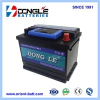 Chinese Wholesales Best Motor Spare Parts Auto Battery 12V 54Ah