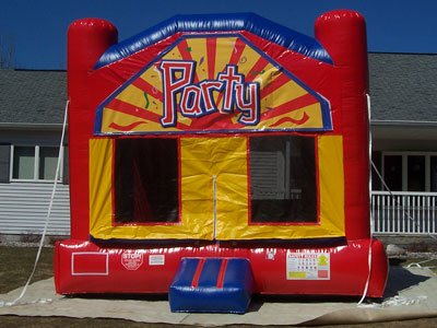 Inflatable moonwalk jumper bounce house