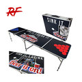 custom logo beer pong table with ice bag
