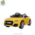 WDJE1198 Licensed Audi Tt Rs Fashion Kids Car With Remote Control, 6v, 12v Battery Optional, Door Open Newest Ride On