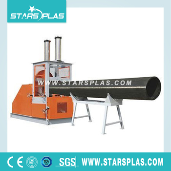 crushing plastic pipe crusher machine