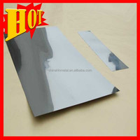 Alibaba Stock 99.95% pure Rolled Tantalum Sheet Tantalum Plate with good price