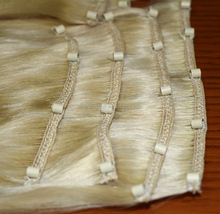 micro bead hair weft easy micro ring weave cheap virgin indian hair extensions